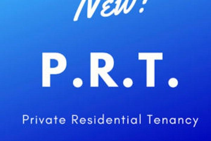 Private Residential Tenancy