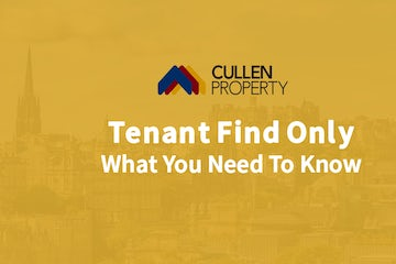 Tenant Find Only - What You Need To Know