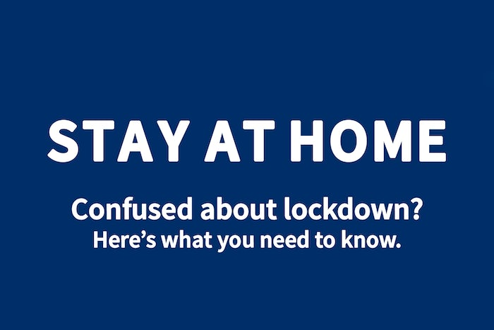 Confused about lockdown?
